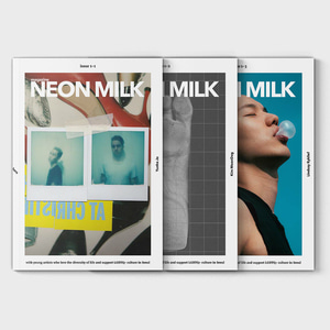 Magazine NEON MILK Vol.1 Photographers